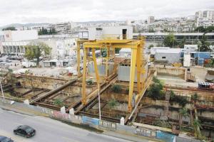 Μετρό Θεσσαλονίκης: «Μερεμέτια» μένουν για το επιβλητικό αμαξοστάσιο της Πυλαίας