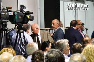 Αργολίδα: Άρον άρον έφυγε ο υπουργός οικονομίας από τα εγκαίνια της EXPO [vid]