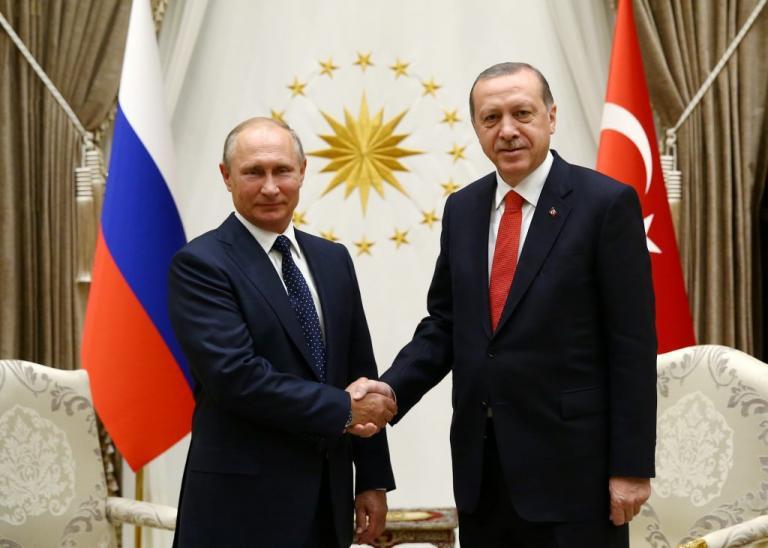 Πούτιν – Ερντογάν: «Κοινή επιτυχία η Συρία»