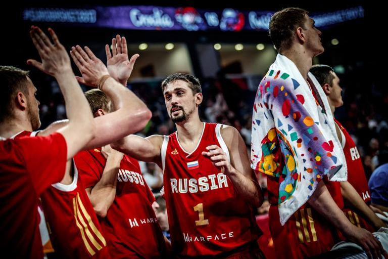 Ρωσία – Ελλάδα, Μπαζάρεβιτς: «Πολύ καλοί παίκτες οι Έλληνες»