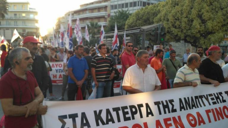 «Φρούριο» το Ηράκλειο – Πανό και συνθήματα λίγο πριν την ομιλία Τσίπρα [pics] | Newsit.gr