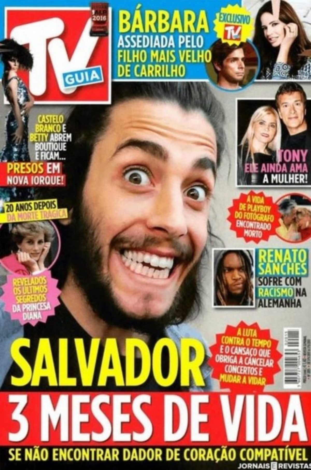 salvador eurovision - Αργοπεθαίνει ο νικητής της Eurovision – Έχει τρεις μήνες ζωής - Σαλβαδορ, Ισπανία