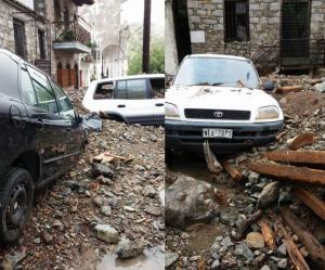 Σαμοθράκη: Σε κατάσταση έκτακτης ανάγκης το νησί – Τεράστιες καταστροφές – Κλειστά τα σχολεία