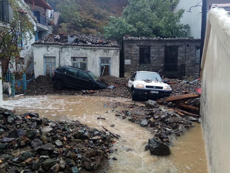 Σαμοθράκη: Νέες εικόνες βιβλικής καταστροφής – Πλημμύρες, κατολισθήσεις και αποκλεισμένα χωριά από την κακοκαιρία [pics, vids] | Newsit.gr