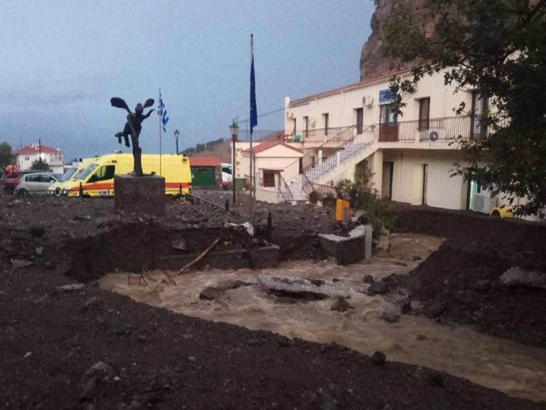 Σαμοθράκη: Αυτοψία Σπίρτζη και απολογισμός των ζημιών από την κακοκαιρία [pics] | Newsit.gr