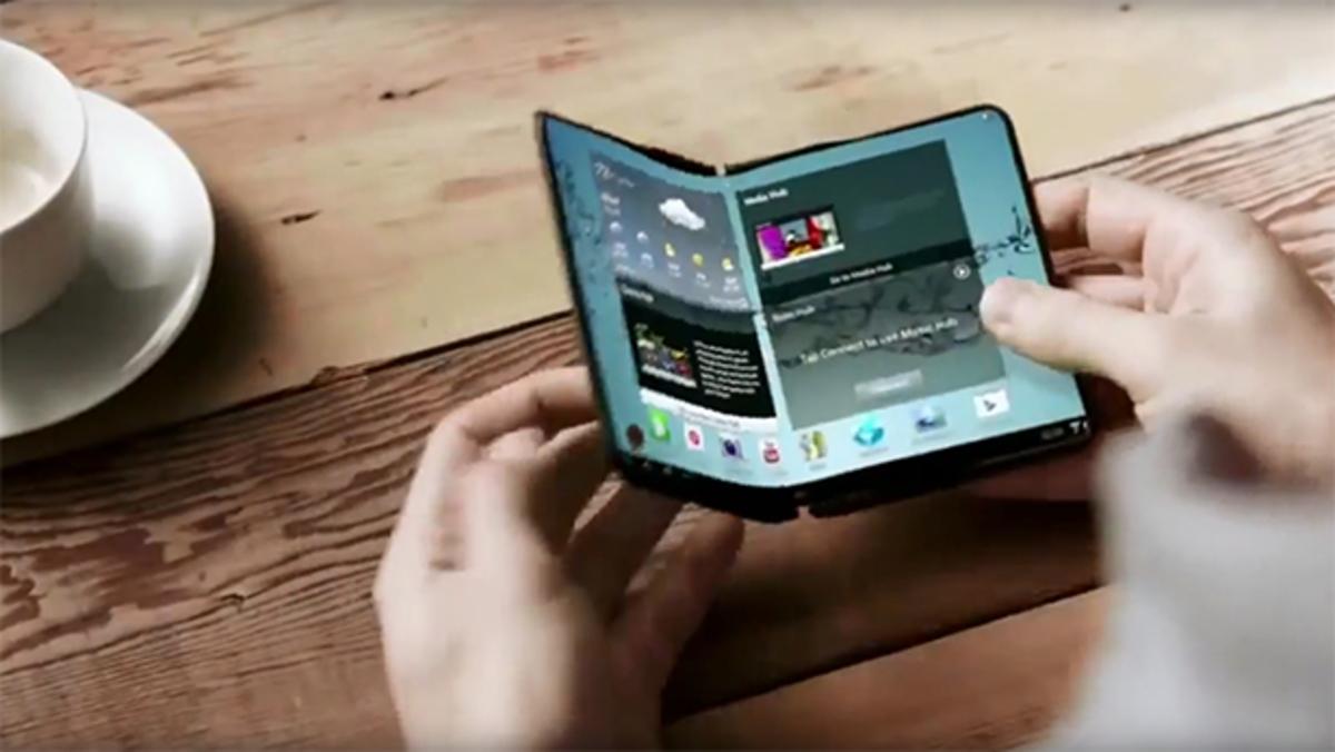 Η Samsung ετοιμάζει νέο Galaxy με οθόνη που διπλώνει;   Newsit.gr