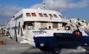 Σίφνος: To πλοίο Sea Jet 2 προσέκρουσε στο λιμάνι – Τραυματίστηκαν επιβάτες!