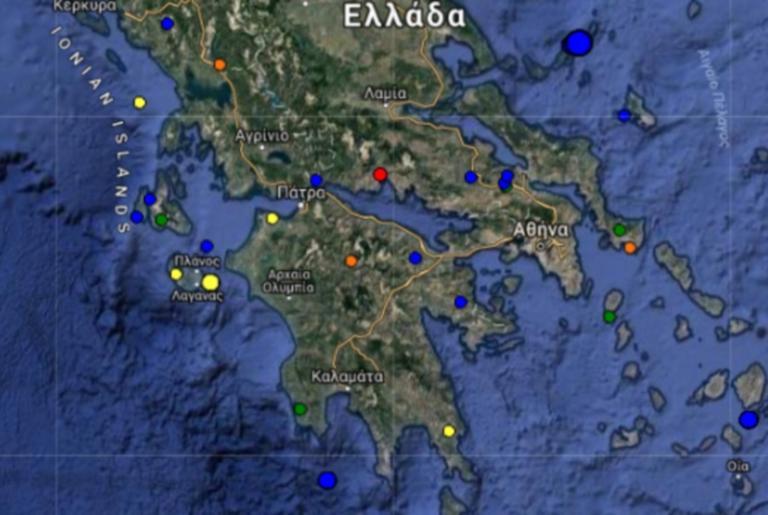 Σεισμός ΤΩΡΑ στην Ιτέα – Τι καταγράφουν οι σεισμογράφοι
