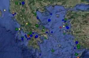 Σεισμός – Τι καταγράφουν τώρα LIVE οι σεισμογράφοι