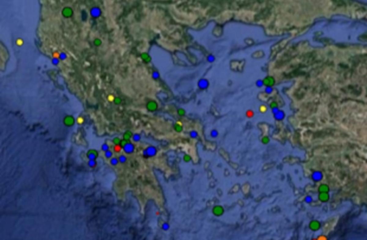 Σεισμός – Τι καταγράφουν τώρα LIVE οι σεισμογράφοι | Newsit.gr