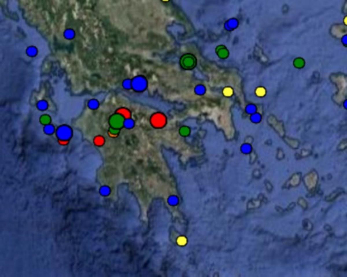 Σεισμός 3,8 Ρίχτερ ταρακούνησε Νεμέα και Κόρινθο!   Newsit.gr