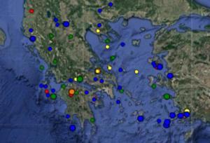 Σεισμός ΤΩΡΑ τι καταγράφουν LIVE οι σεισμογράφοι