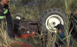 Αχαΐα: Νεαρός αγρότης καταπλακώθηκε από τρακτέρ [vid]