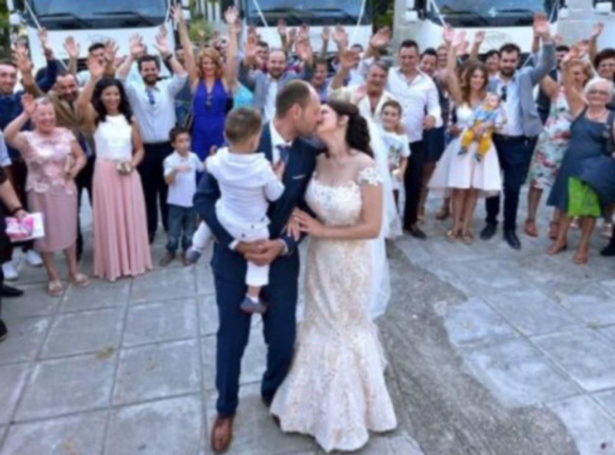 Τρίκαλα: Γαμπρός και νύφη σε ένα σκηνικό παραμυθένιο – Γάμος με εικόνες ιδιαίτερες [pics, vid]
