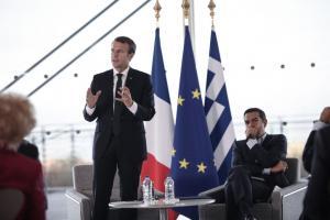 Μακρόν στην Αθήνα: Στο Ίδρυμα Σταύρος Νιάρχος ο Γάλλος Πρόεδρος