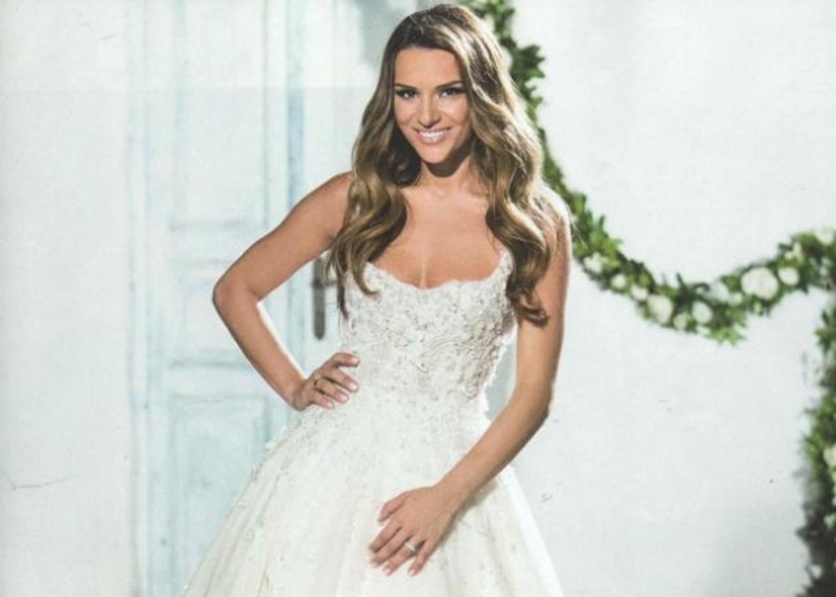 Ελένη Τσολάκη: Η τούρτα – υπερπαραγωγή που ετοίμασε ο Σκαρμούτσος στο γάμο της! | Newsit.gr