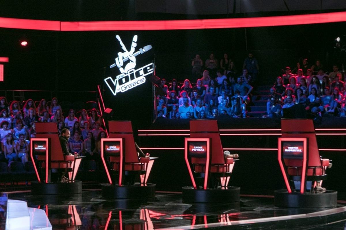 «Voice»: Oι κριτές πήραν τις θέσεις τους – Φωτό από τα γυρίσματα   Newsit.gr