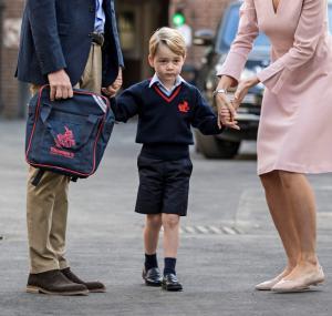Κέιτ Μίντλετον: Έχασε την πρώτη μέρα στο σχολείο του μικρού Τζώρτζ