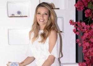 Μαριέττα Χρουσαλά: Στο Μιλάνο για δουλειά, στον 6ο μήνα της εγκυμοσύνης της! [pics]