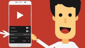 Έλεγχος της ταχύτητας των βίντεο στο YouTube App