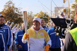 Θεσσαλονίκη: Τελετή αφής της Ολυμπιακής Φλόγας των ΧΧΙΙΙ Χειμερινών Ολυμπιακών Αγώνων [pics]