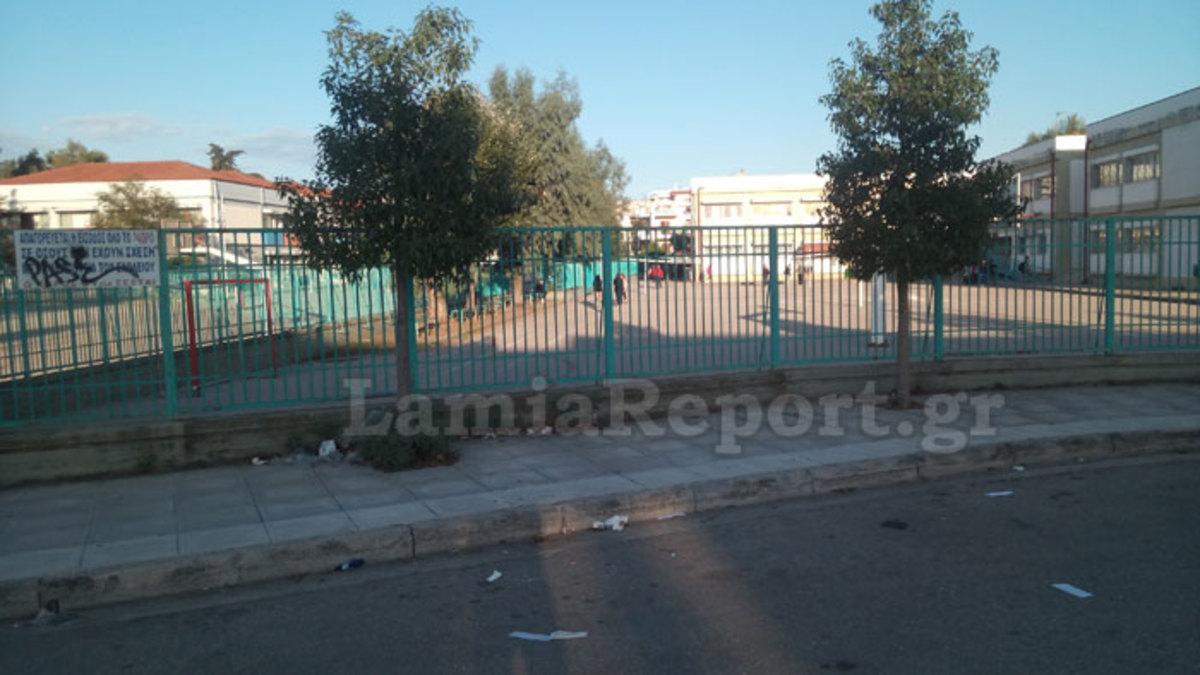 Λαμία: Έφτασαν στο σχολείο και είδαν εικόνες που θα θυμούνται για καιρό – Ξεσπούν γονείς και μαθητές [pics, vid] | Newsit.gr