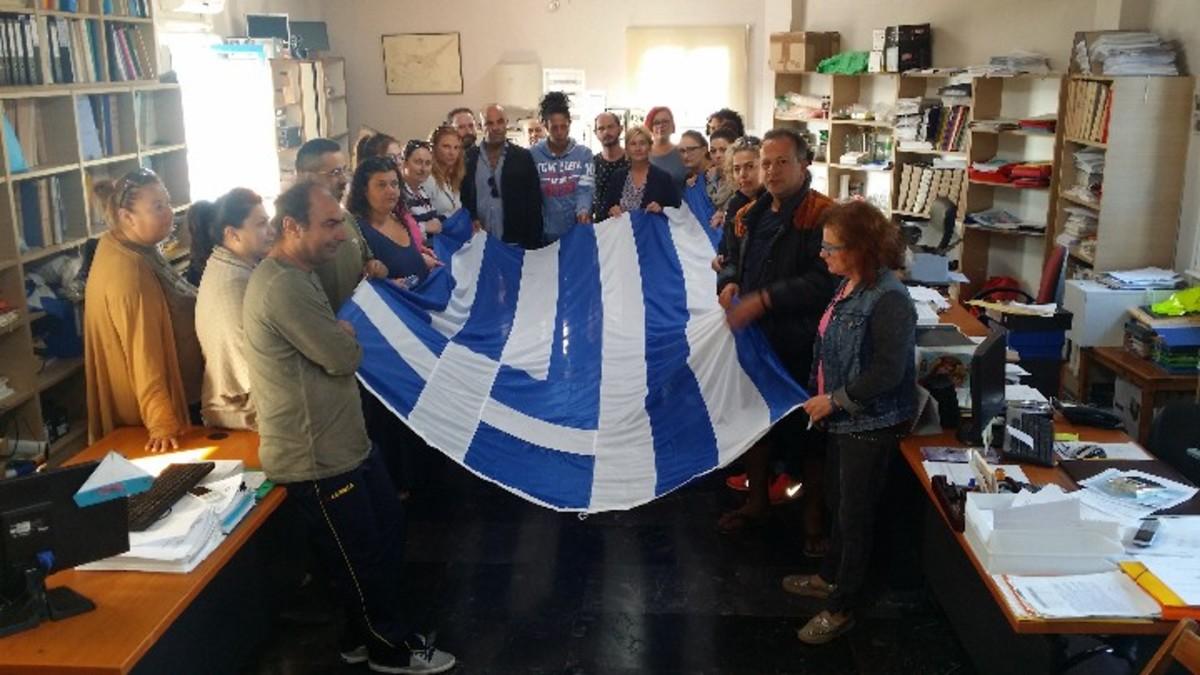 Λειψοί: Κατέλαβαν το δημαρχείο για τις ελλείψεις στο δημοτικό σχολείο – «Δεν πάει άλλο» [pics] | Newsit.gr