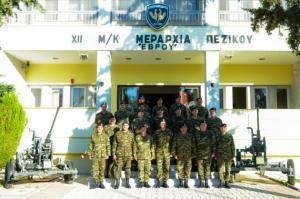 Ο Αρχηγός Στρατού στον Έβρο [pics]