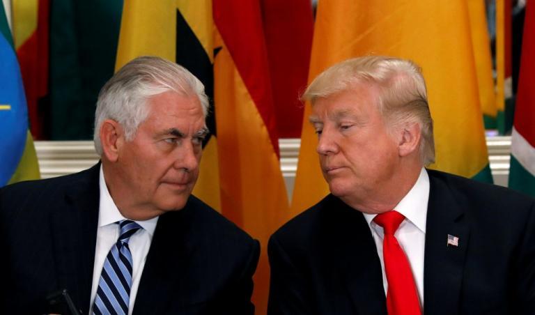 Αμερικανικά ΜΜΕ: Ο Τίλερσον αποκάλεσε τον Τραμπ «ηλίθιο» | Newsit.gr