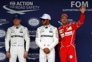 Formula 1: Πήρε την pole position ο Χάμιλτον! Δεύτερος ο Φέτελ