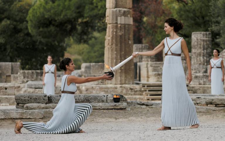 Τελετή Αφής Ολυμπιακής Φλόγας: Επιτυχημένη η πρόβα, φόβοι για τη συννεφιά! [pics]   Newsit.gr