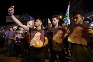 Η πικρία του Μπαρζανί: «Κανείς δεν στάθηκε στο πλευρό των Κούρδων»