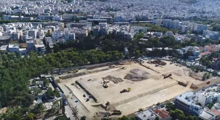 Γήπεδο ΑΕΚ: Οι εργασίες στο οικόπεδο με τη… ματιά ενός drone [vid]