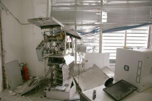 Ερέτρια: Γερή «μπάζα» για τους βομβιστές των ΑΤΜ – Γέμισε ο τόπος 20ευρα…