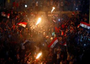 Πήρε… φωτιά το Κάιρο! Ξέφρενο «πάρτι» για την πρόκριση της Αιγύπτου στο Μουντιάλ 2018 [pics, vids]