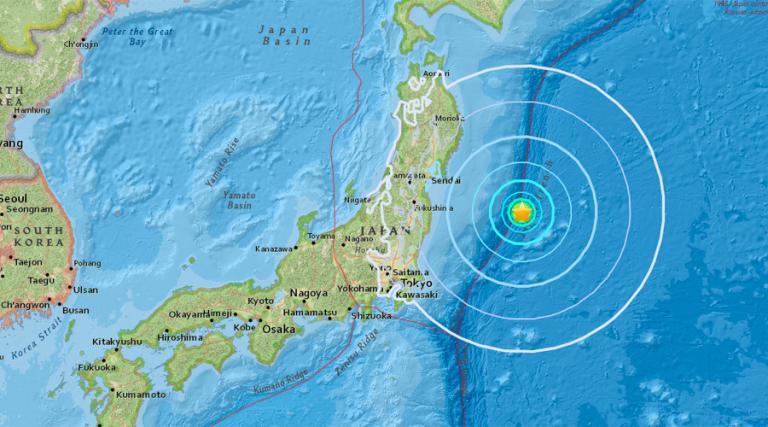Σεισμός 6 Ρίχτερ στην Ιαπωνία | Newsit.gr