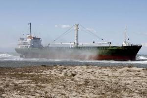 Απαγορεύτηκε ο απόπλους στο πλοίο που προσάραξε στην Ηγουμενίτσα