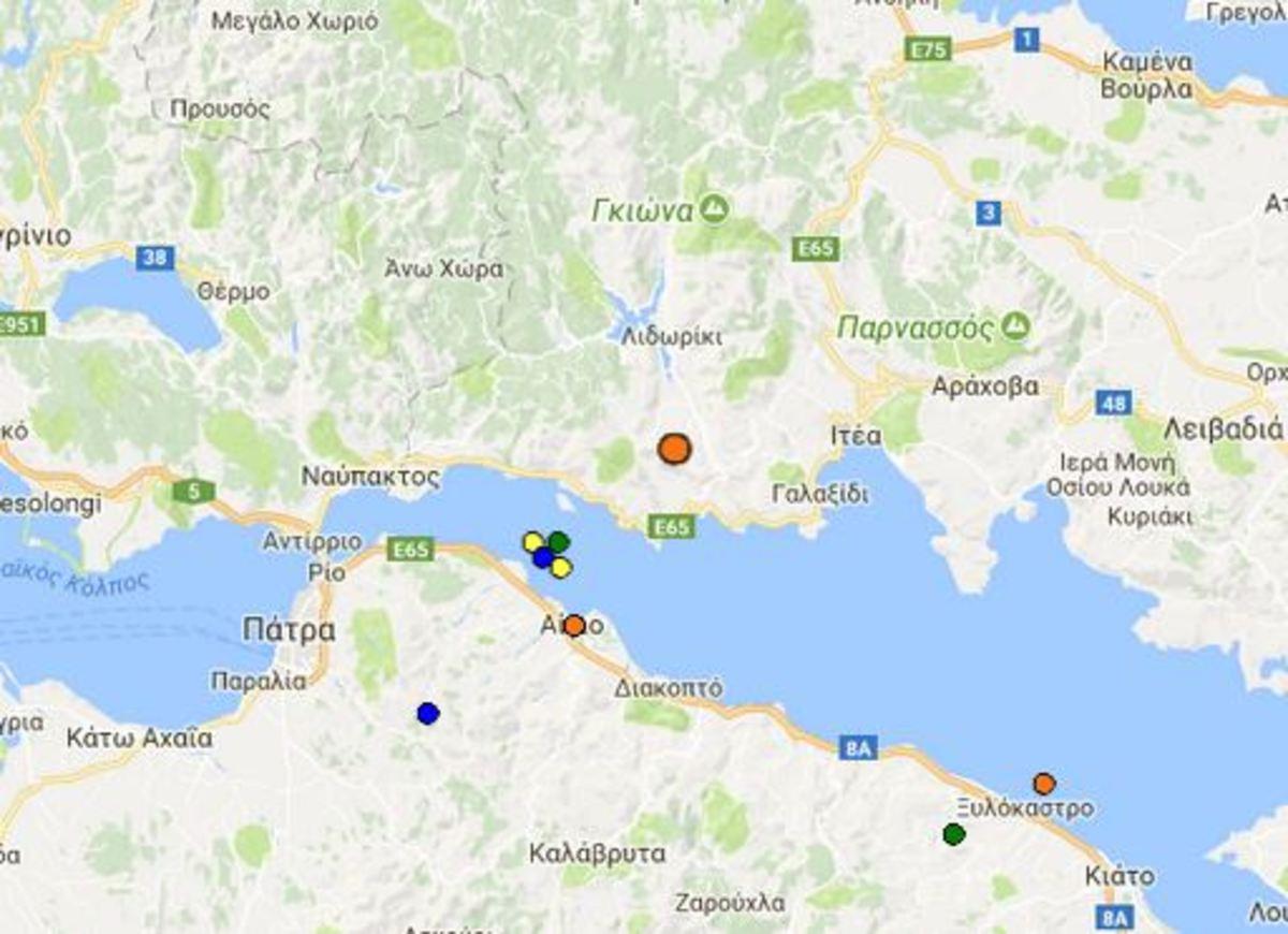 Σεισμός στο Γαλαξίδι | Newsit.gr