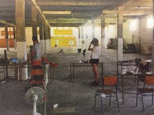 Η Άννα Κορακάκη σε… αποθήκη – Οργή για τις άθλιες συνθήκες προπόνησης