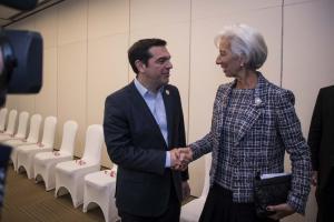 Λαγκάρντ: «Το ΔΝΤ δεν ζητάει νέα μέτρα»!