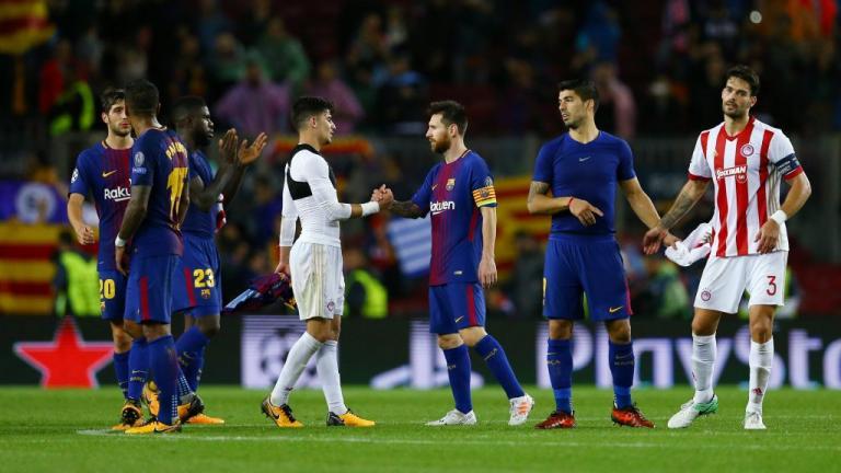 «Τον αγριοκοίταξε»! Το… σκηνικό μεταξύ Μέσι και δυο παικτών του Ολυμπιακού | Newsit.gr