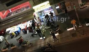 Ντοκουμέντο: Ο ληστής του Παλαιού Φαλήρου πεσμένος στο έδαφος – Το χρονικό της ληστείας με τους πυροβολισμούς