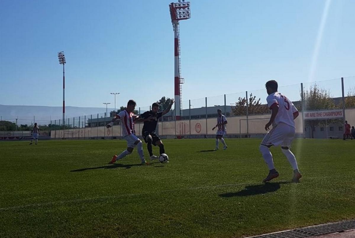 Ολυμπιακός – ΠΑΟΚ: Ισόπαλο το ματς των Νέων   Newsit.gr