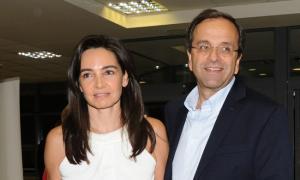 Ηλεία: Ο φίλαθλος Αντώνης Σαμαράς, η σύζυγός του και οι αναπόφευκτες συγκρίσεις – Η αιτία της επίσκεψης στην Ολυμπία!