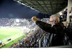 ΠΑΟΚ: Με Σαββίδη και κόσμο πριν τον Ολυμπιακό