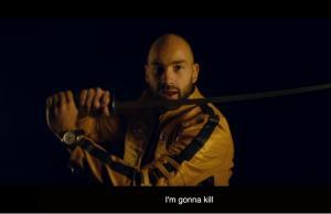 Ο μικρός Σπανούλης απορεί με το σπαθί του… Kill Bill [vid]