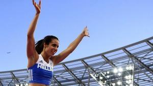Κατερίνα Στεφανίδη: Πήρε τον τίτλο της κορυφαίας αθλήτριας της Ευρώπης!