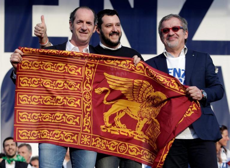 Ιταλία – Δημοψήφισμα: Αυτονομία θέλουν Βένετο και Λομβαρδία | Newsit.gr