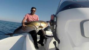 Σητεία: Η ψαριά της ζωής του! Έβγαλε «θηρίο» 32 κιλών με το… καλάμι [pic]