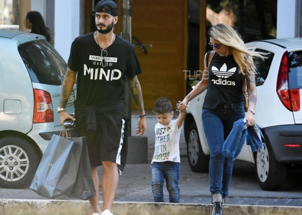 Αγγελική Ηλιάδη – Σάββας Γκέντσογλου: Βόλτα για ψώνια με τον γιο τους! [pics] | Newsit.gr